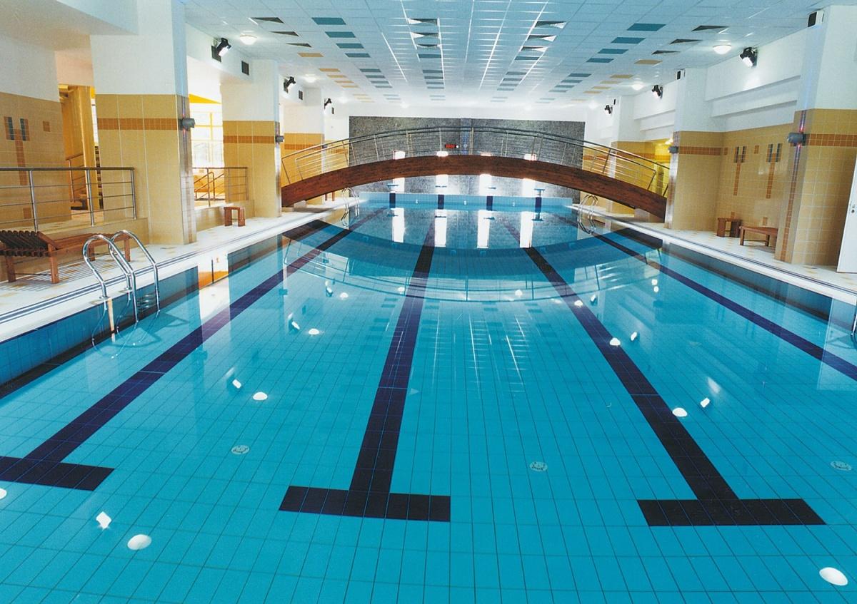 Rekonstrukce krytého bazénu vojenské zotavovny Měřín