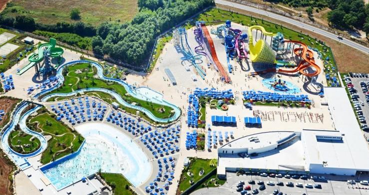 Bazénové technologie pro chorvatský aquapark Aquacolors dodal zlínský Centroprojekt