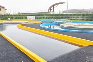 Bazény pro Hippo arénu v Šamoríně