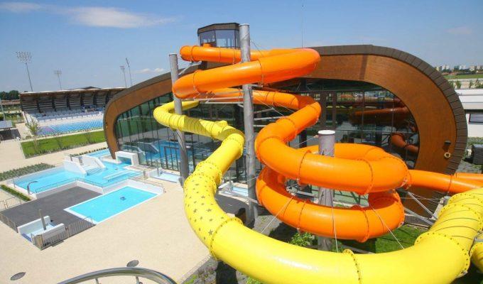 Centroprojekt dodal bazénové technologie pro Aqua arénu v Šamoríně