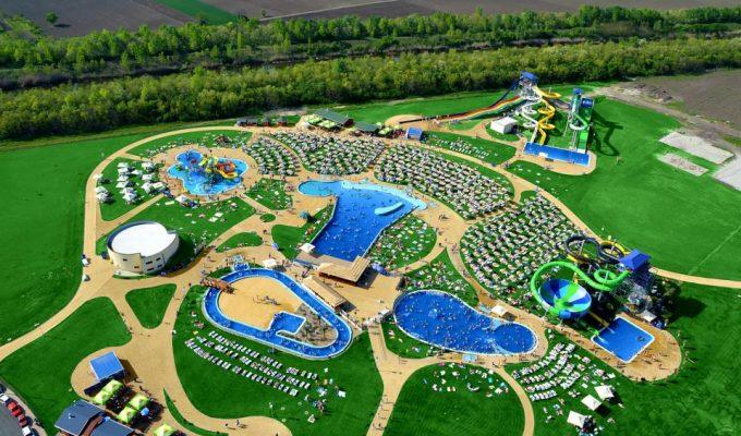 Bazénové technologie pro Aquapark Bački Petrovac v Srbsku
