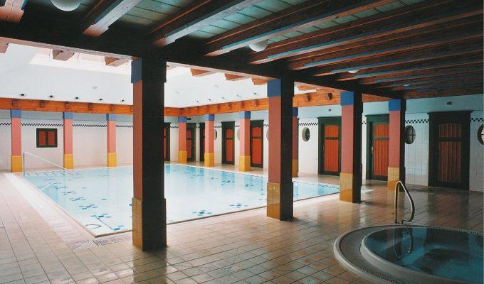 Projekt hotelového bazénu pro Lázeňský dům v Luhačovicích