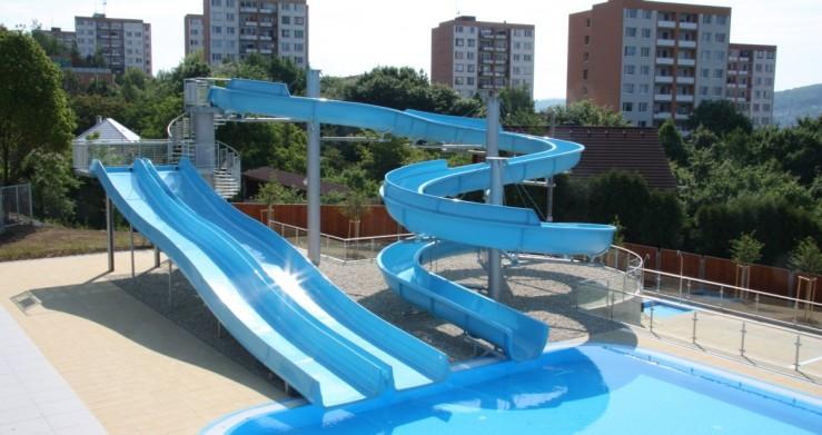 Projekt zlínského koupaliště včetně bazénové technologie připravil Centroprojekt