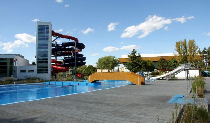 Projekt rekonstrukce aquaparku v Uherském Hradišti