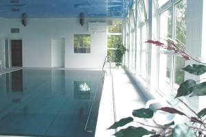 Projekt vnitřního rehabilitačního bazénu v hotelu Hubert v Luhačovicích