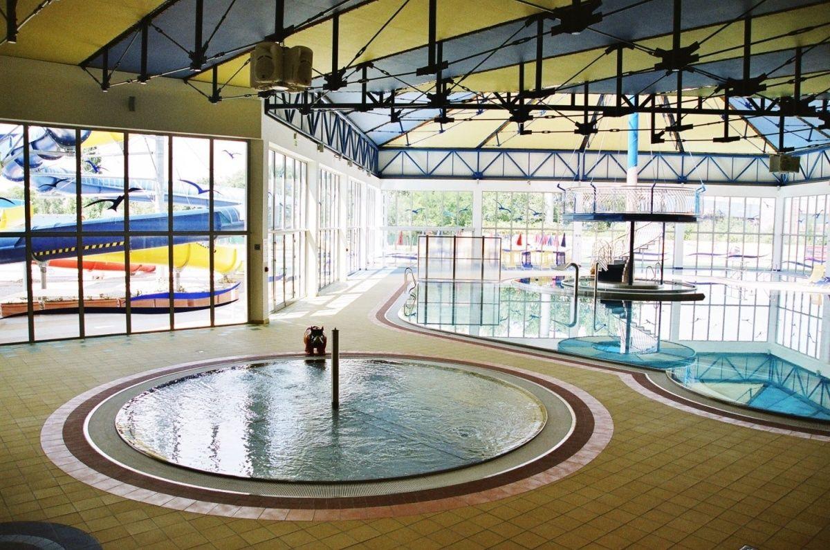 Bazénové technologie pro termálne centrum Galandia