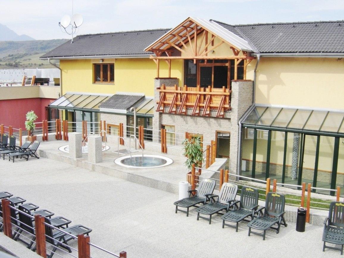 Projekt termálního koupaliště Bešeňová připravil Centroprojekt
