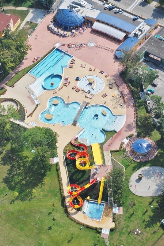 Bazénové technologie pro aquapark v Prostějově