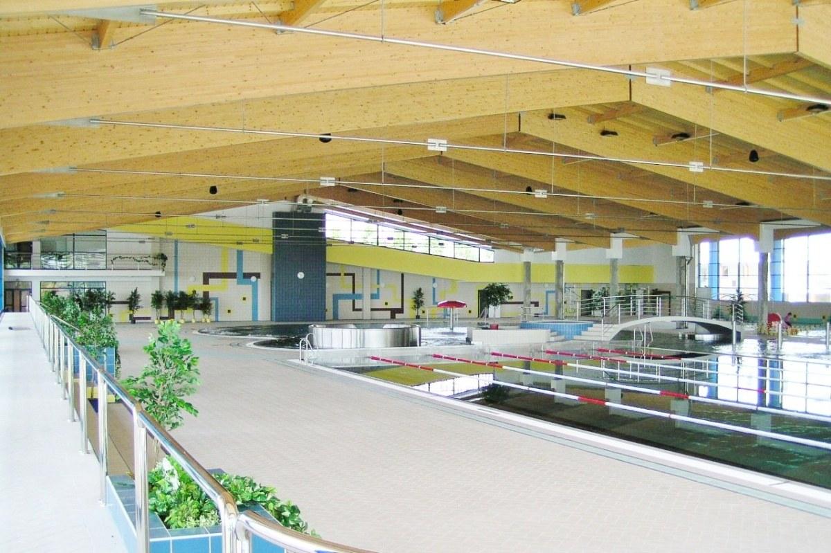 Projekt aquparku Aquadrom Most