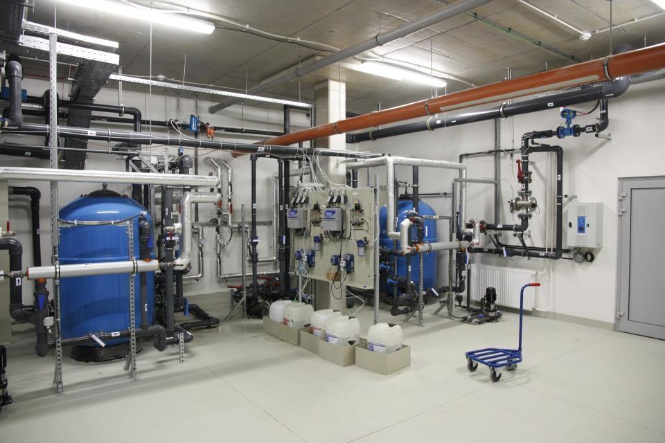 Dodávka bazénové technologie pro Aqualand Moravia zajistil Centroprojektv