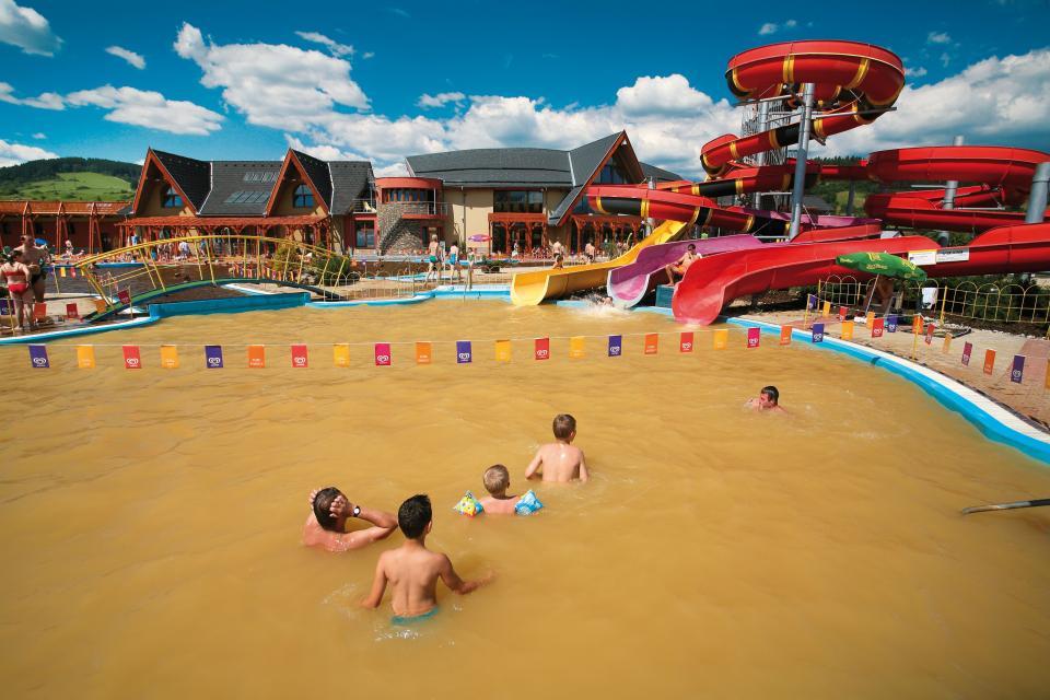 Dodávku bazénové technologie pro GINO PARADISE v Bešeňové zajistil Centroprojekt