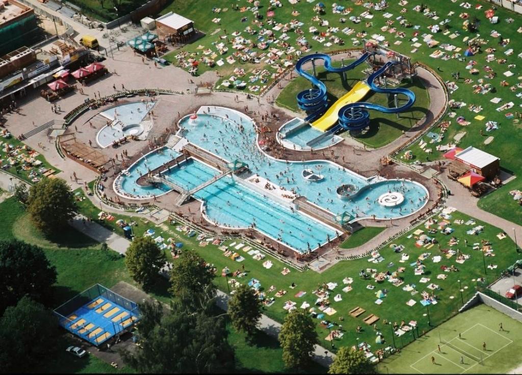 Bazénové technologie pro venkovní koupaliště Olešná