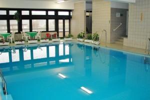 Bazén a whirlpool pro hotel Adamantino v Luhačovicích od Centroprojektu