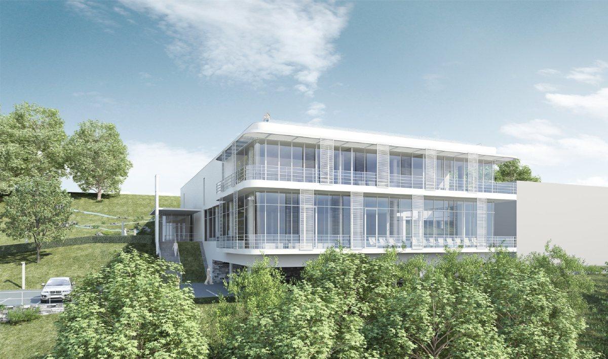 Projekt balneoparku a wellness v Priessnitzových lázních v Jeseníku od Centroprojektu