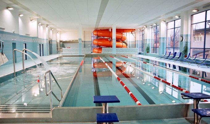 Modernizace vnitřního bazénu v Orlové