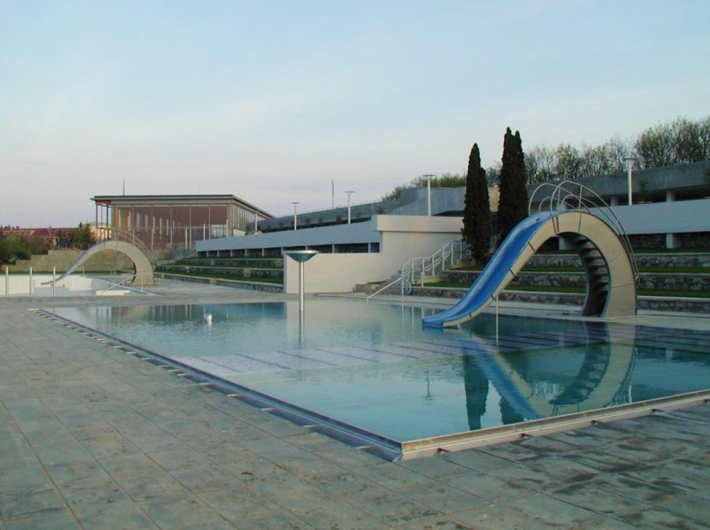 Rekonstrukce koupaliště Brno - Kraví Hora, kterou provedl Centroprojekt