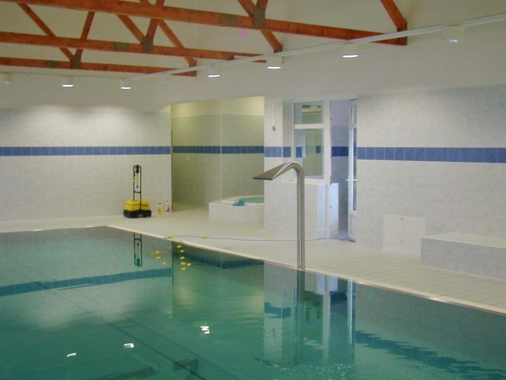 Projekt bazénu pro relax centrum ve Fryčovicích realizoval Centroprojekt