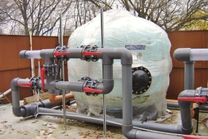 Bazénové technologie pro městské koupaliště v Holešově dodal Centroprojekt