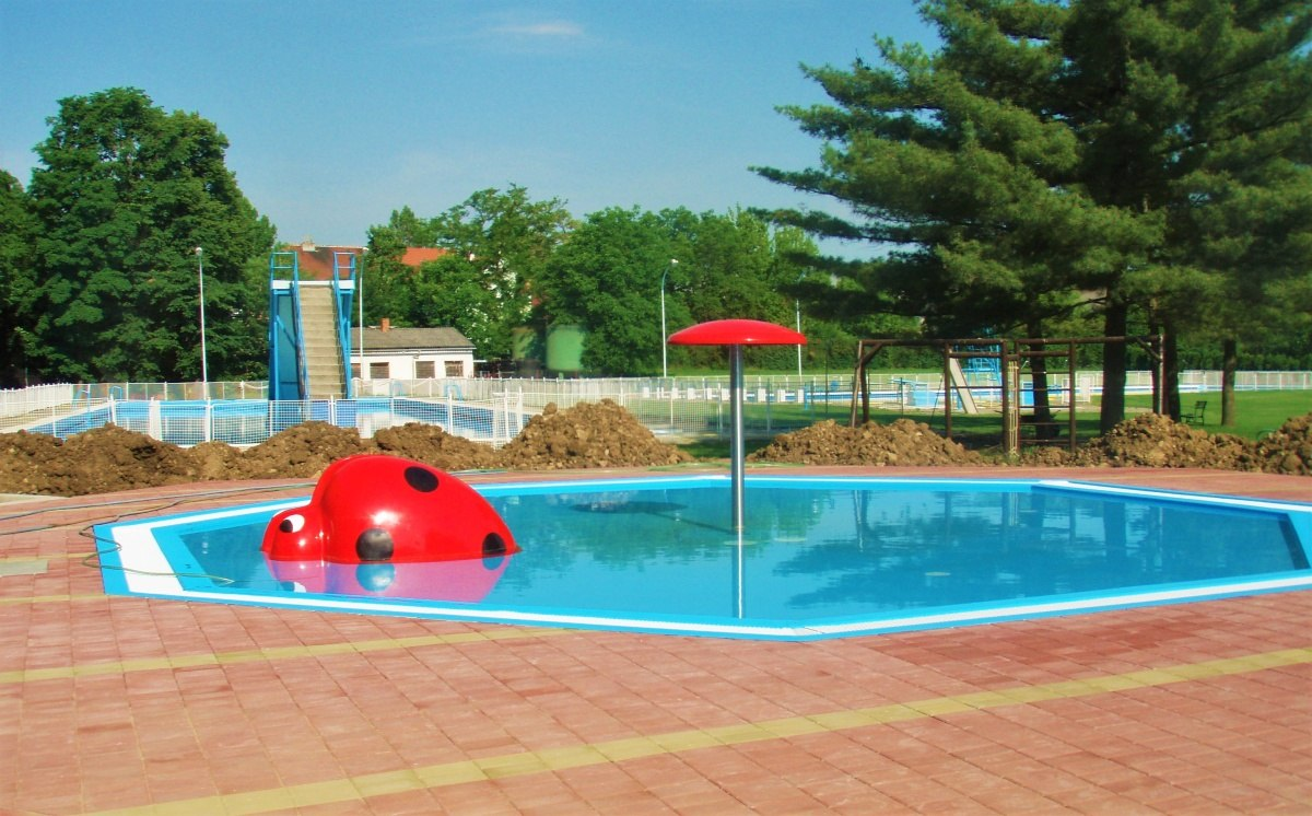Bazénová technologie pro dětský bazén v Kyjově