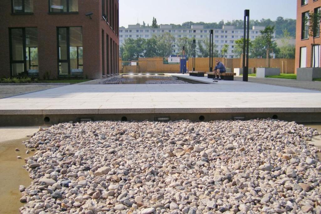 Projekt fontány v Praze - Invalidovně