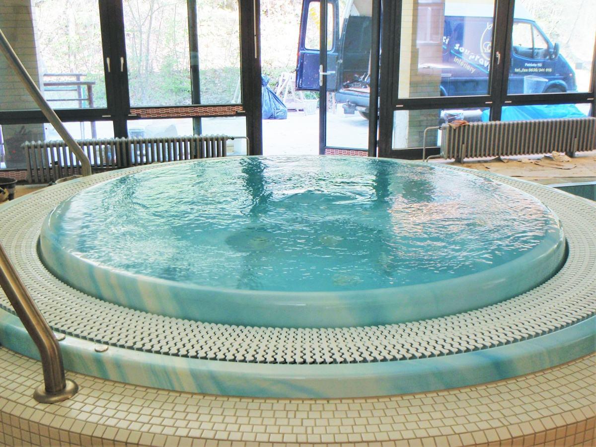 Bazénové technologie pro rehabilitační pavilon v Luhačovicích