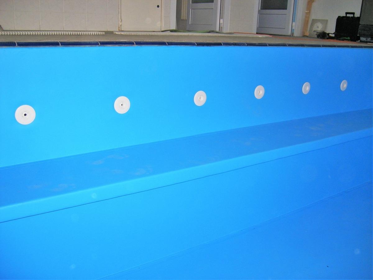 Bazénové fólie pro hotelový bazén Miramare v Luhačovicích