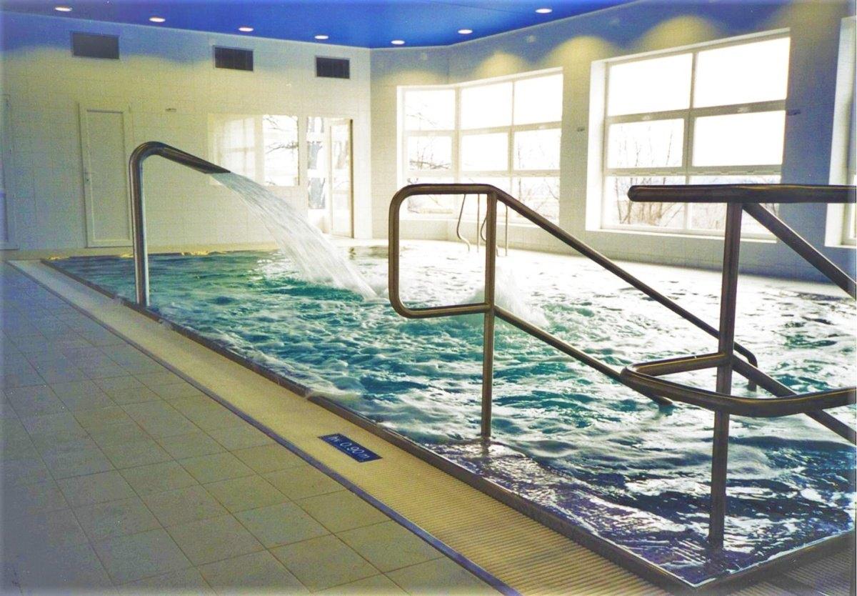 Bazénová technologie pro vnitřní bazén v Metylovicích