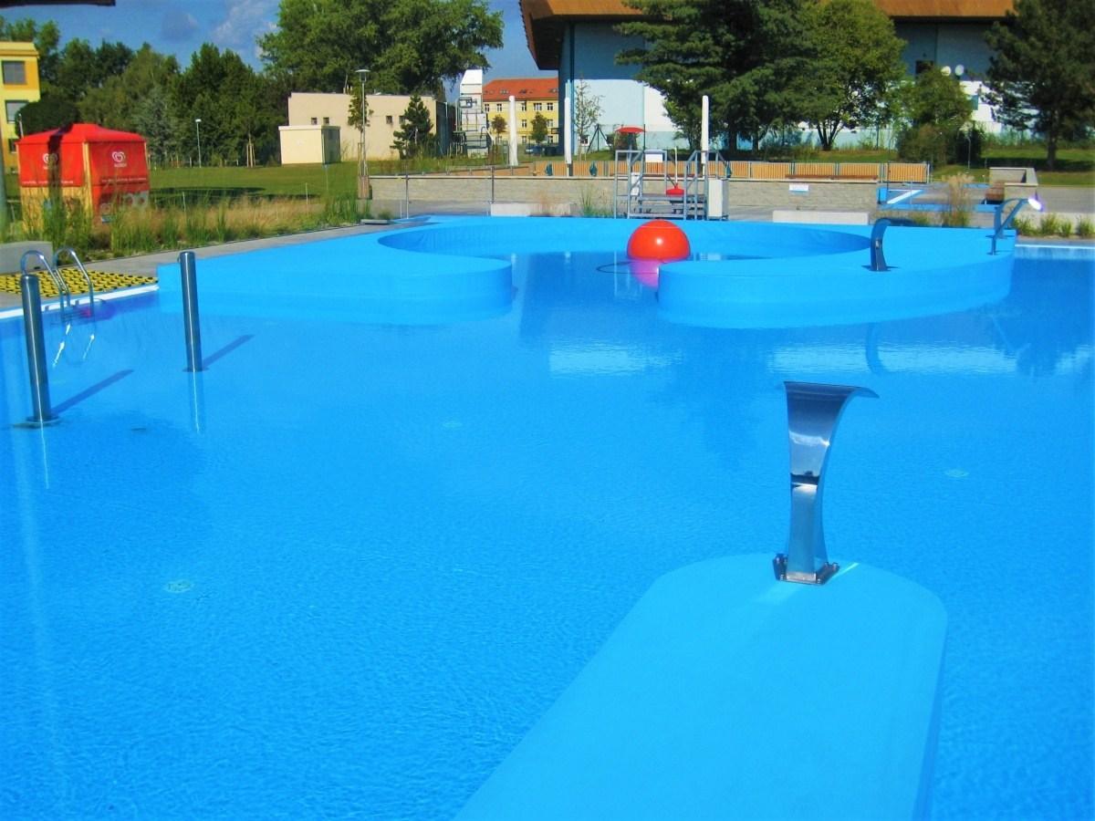 Bazénové technologie pro koupaliště Bajda v Kroměříži