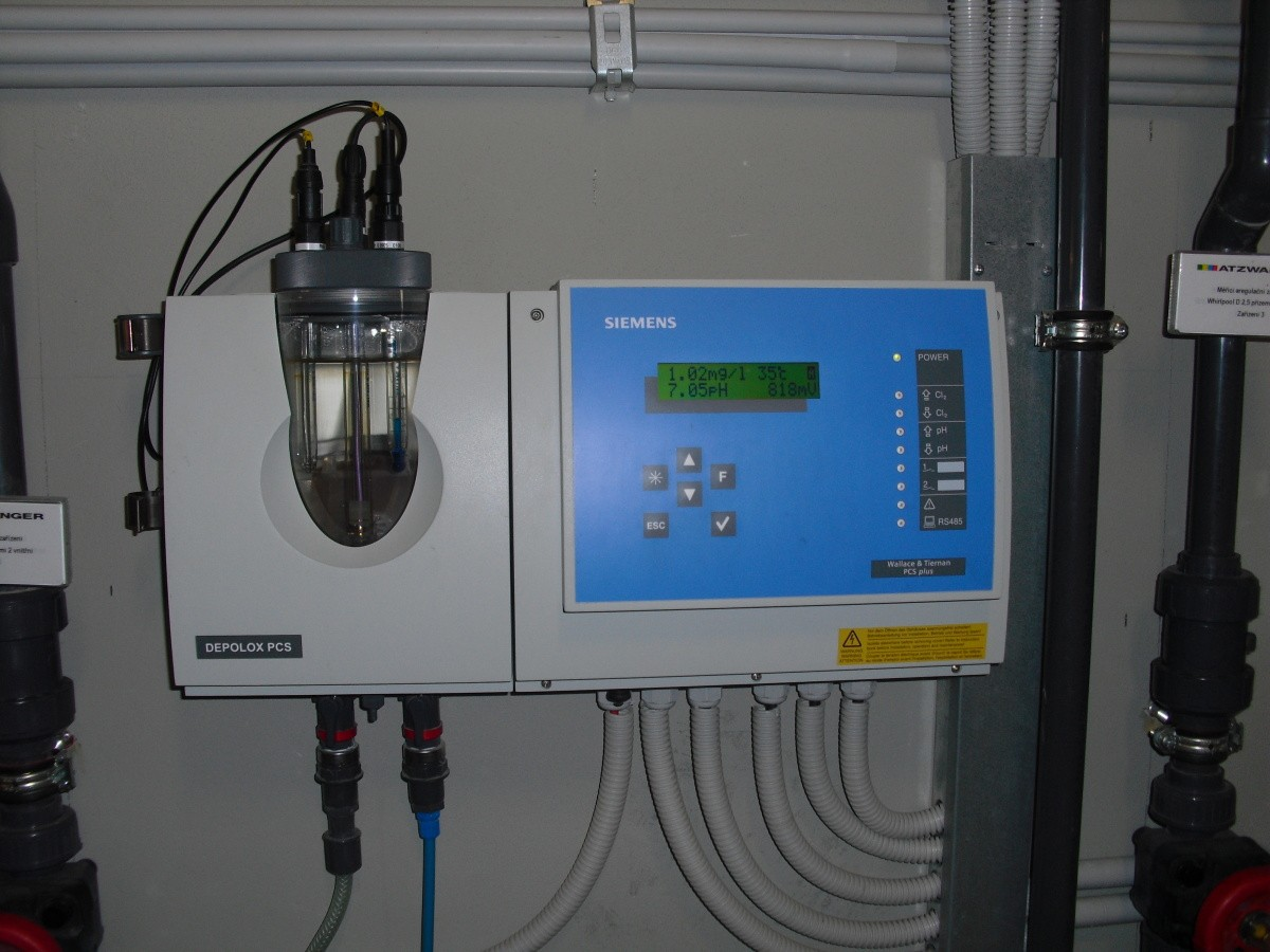 Bazénové technologie pro aquapark v Olomouci