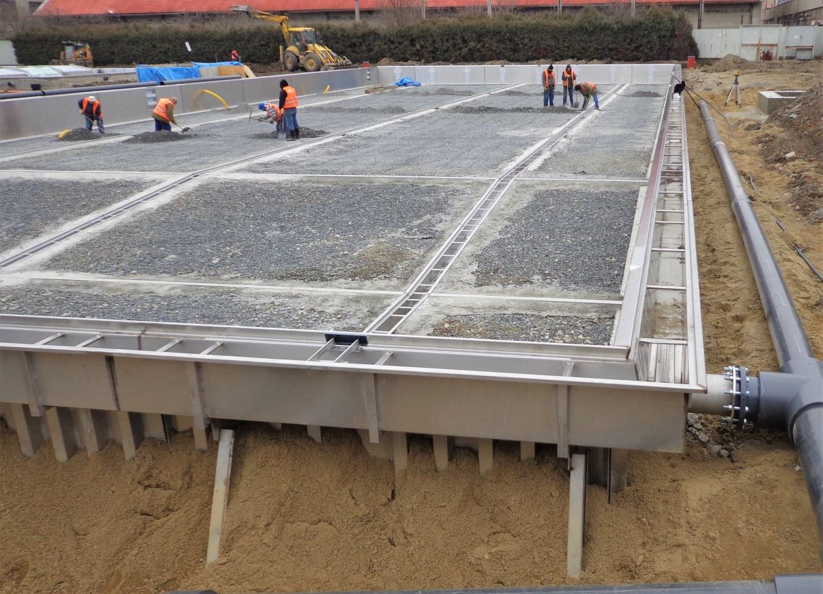 Bazénové technologie pro plavecký stadion v Olomouci