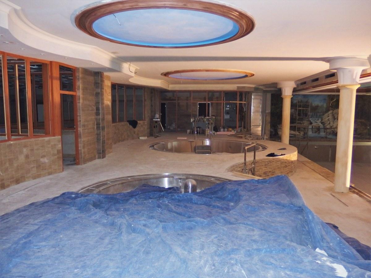 Bazény a vodní atrakce pro Aqua Šport Centrum Púchov