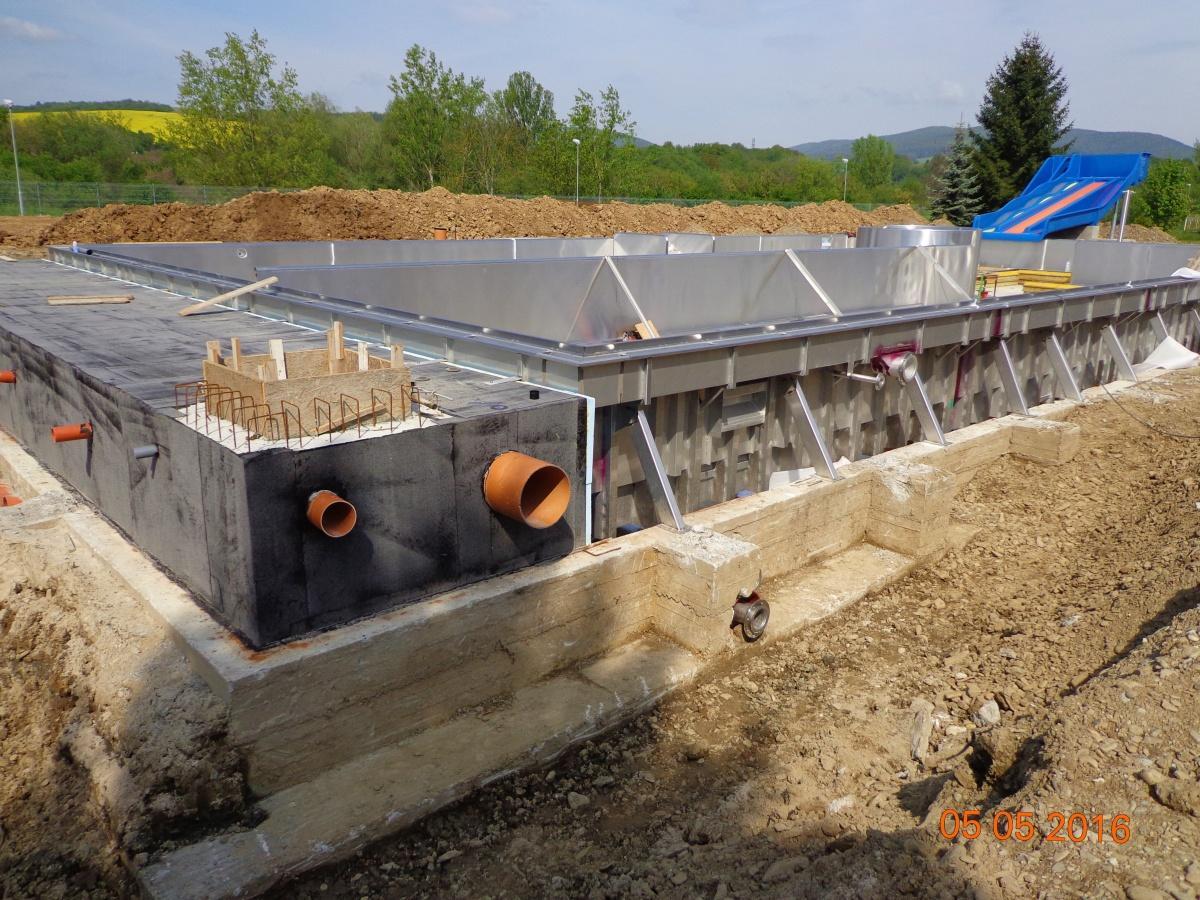 Rekonstrukce kúpaliska v Nemšovej, Slovensko