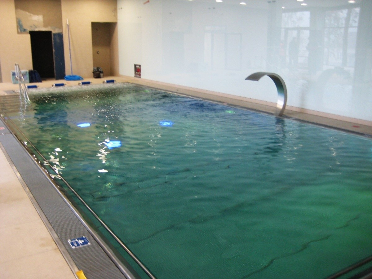 Bazénové technologie pro vnitřní bazén v Petřkovicích
