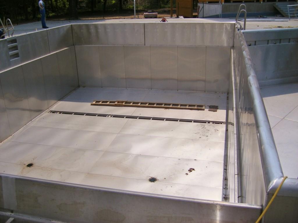 Rekonstrukce koupaliště TEZA Hodonín