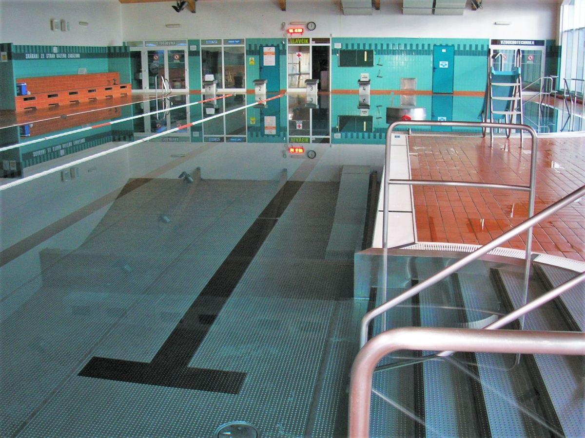 Bazénové technologie pro vnitřní bazén v Bystřici nad Olší