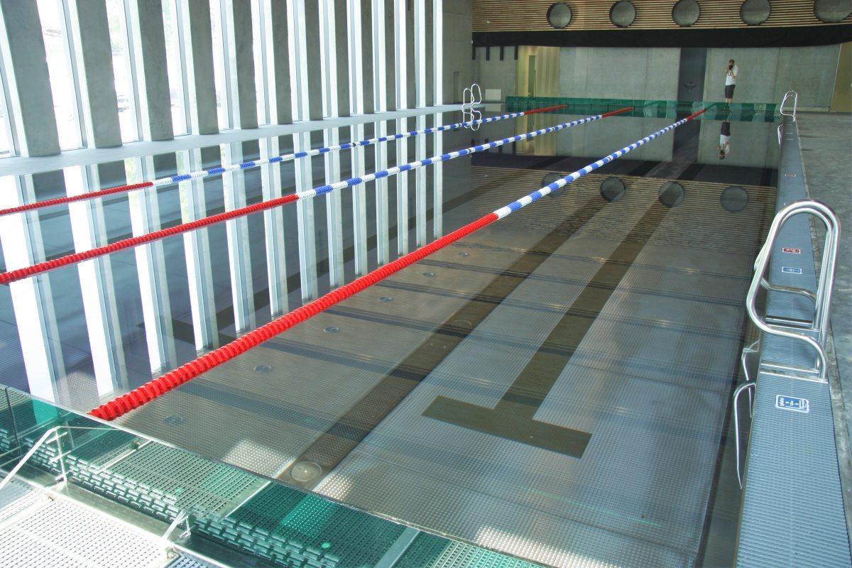 Bazénové technologie pro vnitřní nerezové bazény UP Olomouc