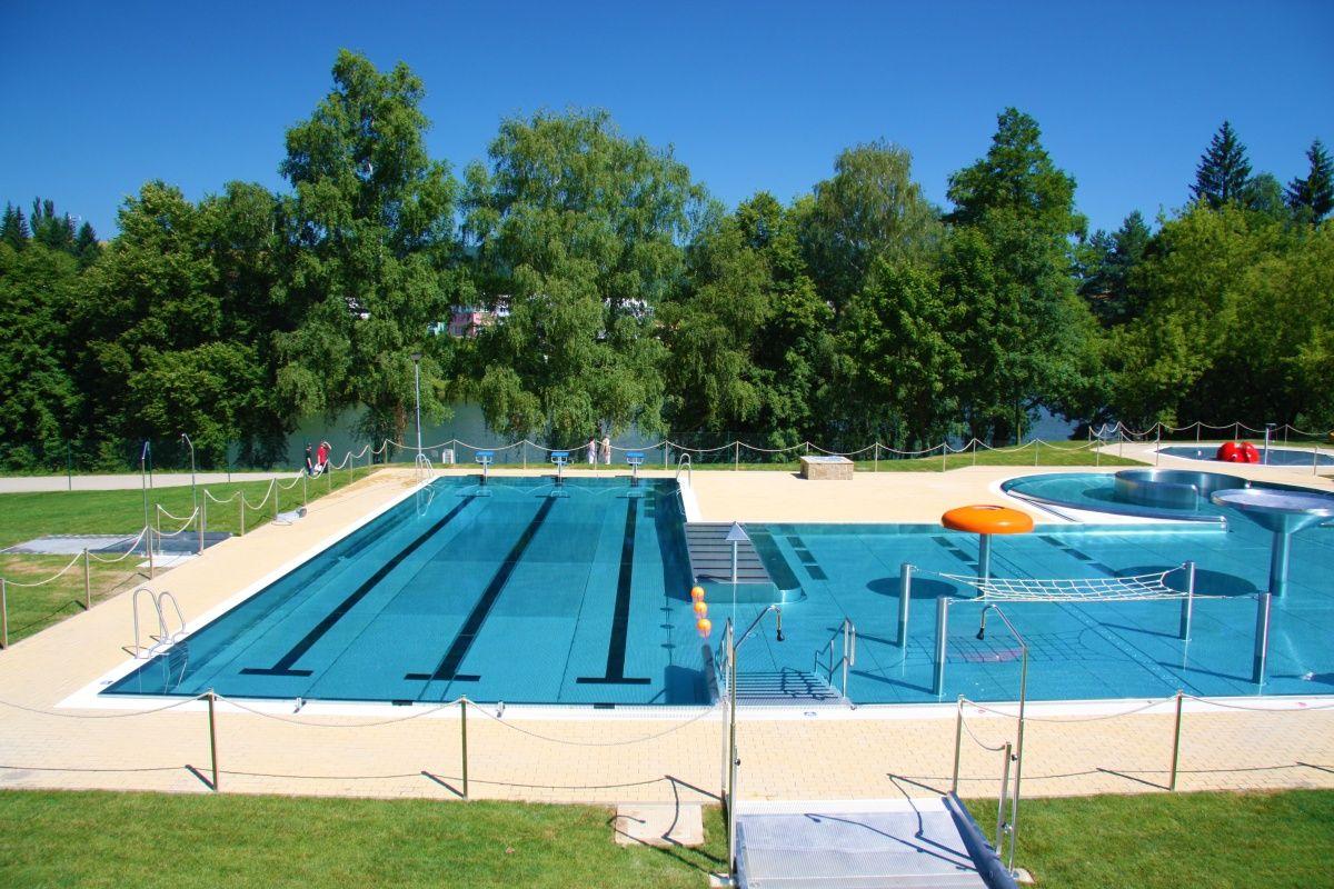 Koupaliště duha s bazénovými technologiemi od Centroprojektu