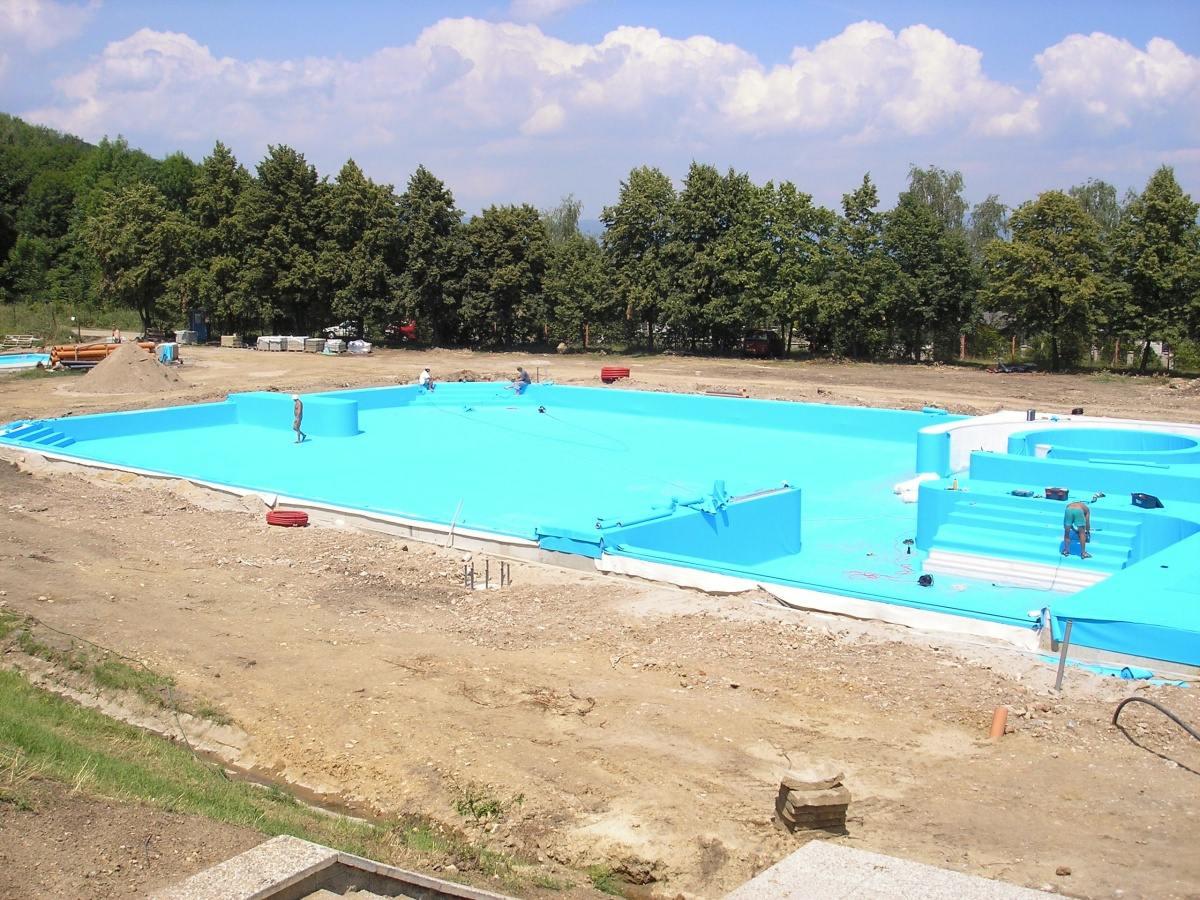 Bazénové technologie pro koupaliště Ressl v Mostě