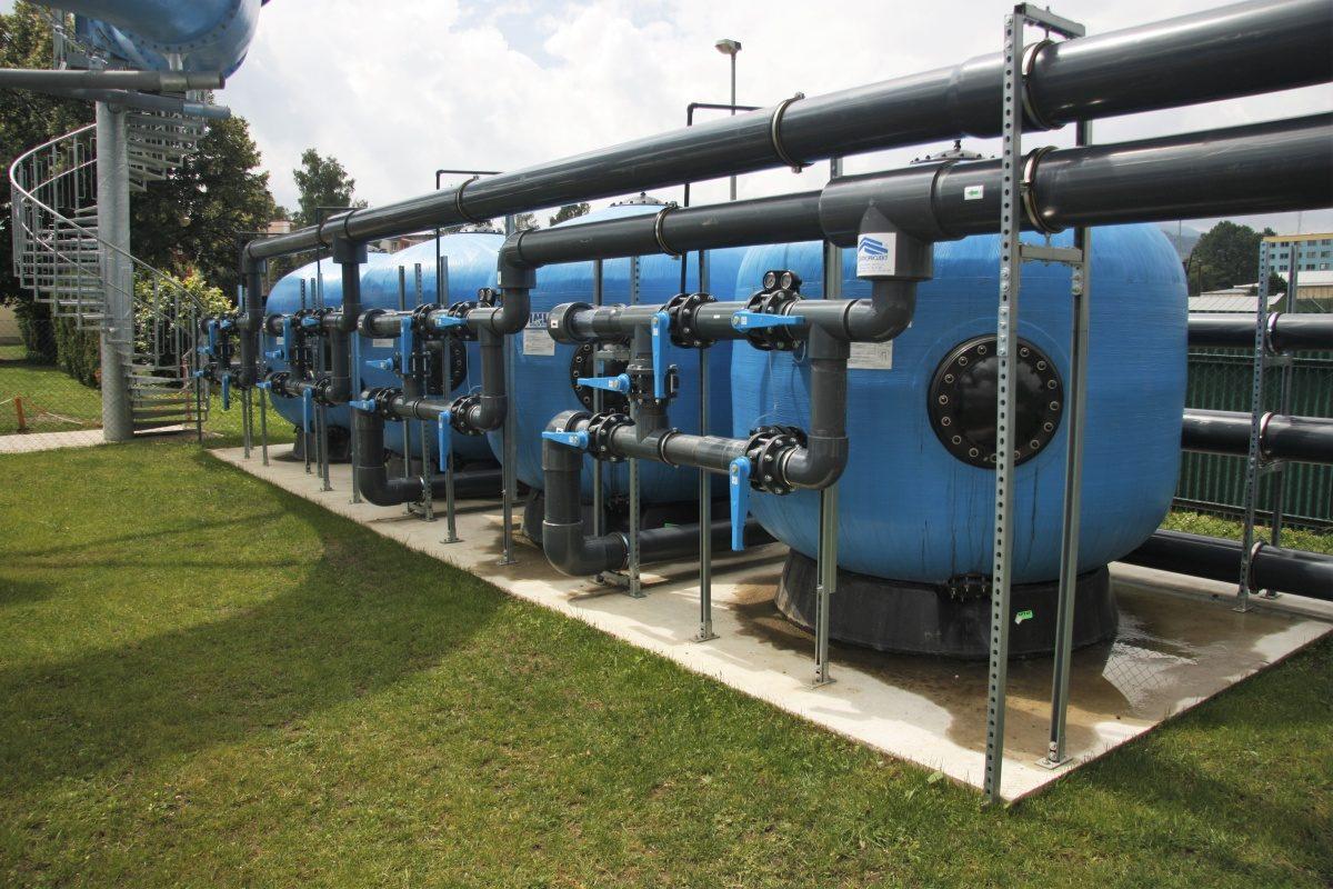 Rekonstrukce koupaliště a instalace nových bazénových technologií v Jeseníku