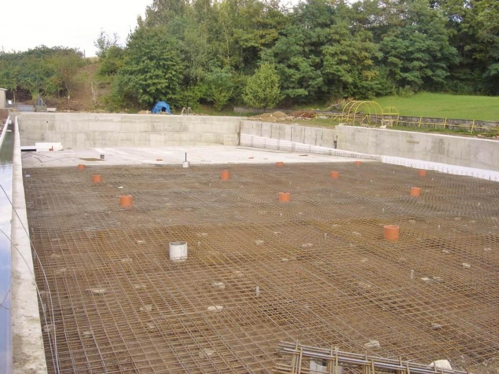 Bazénové technologie pro obecní koupaliště v Dražovicích dodal Centroprojekt