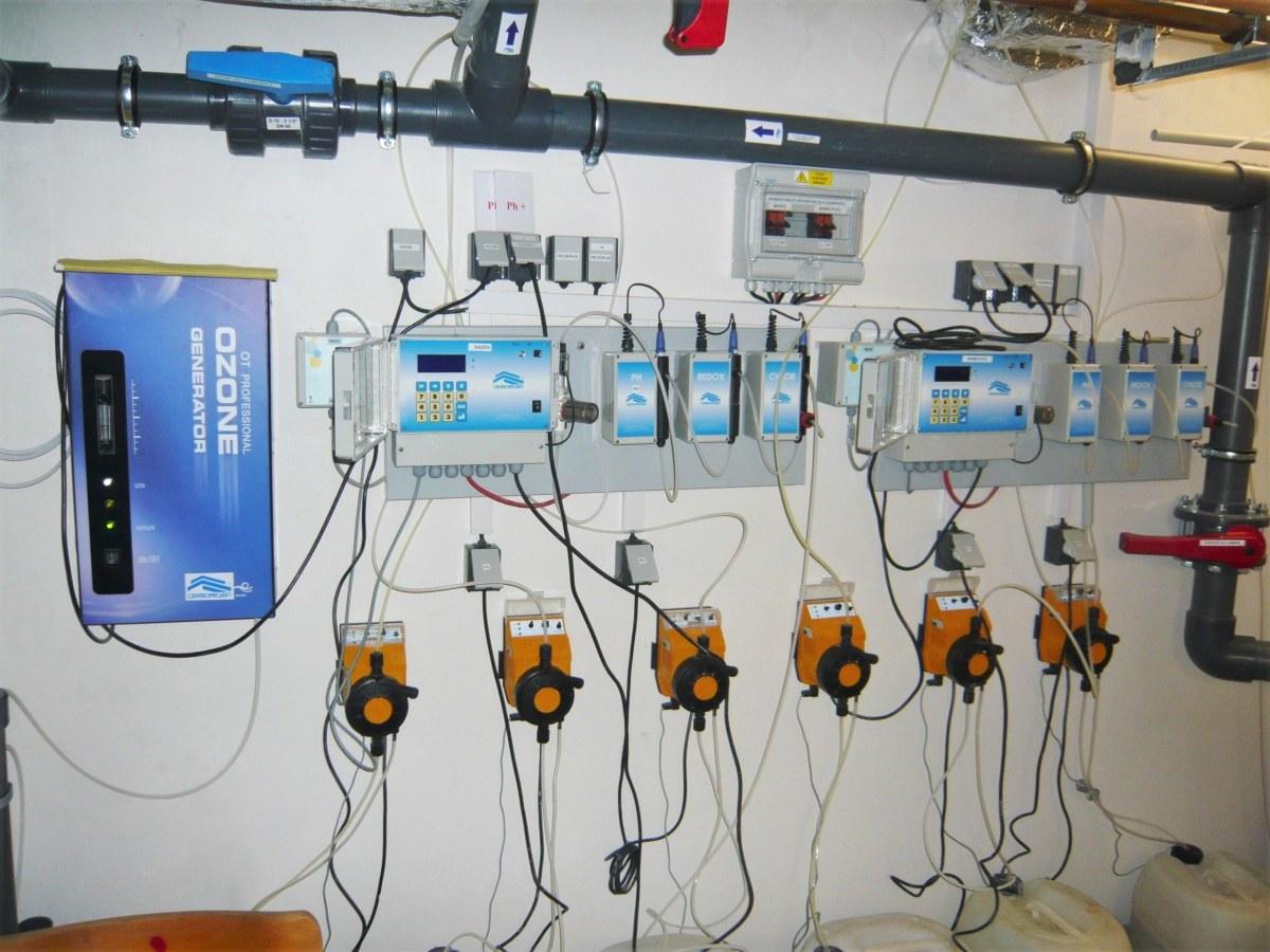 Rehabilitační bazén v nemocnici Třinec