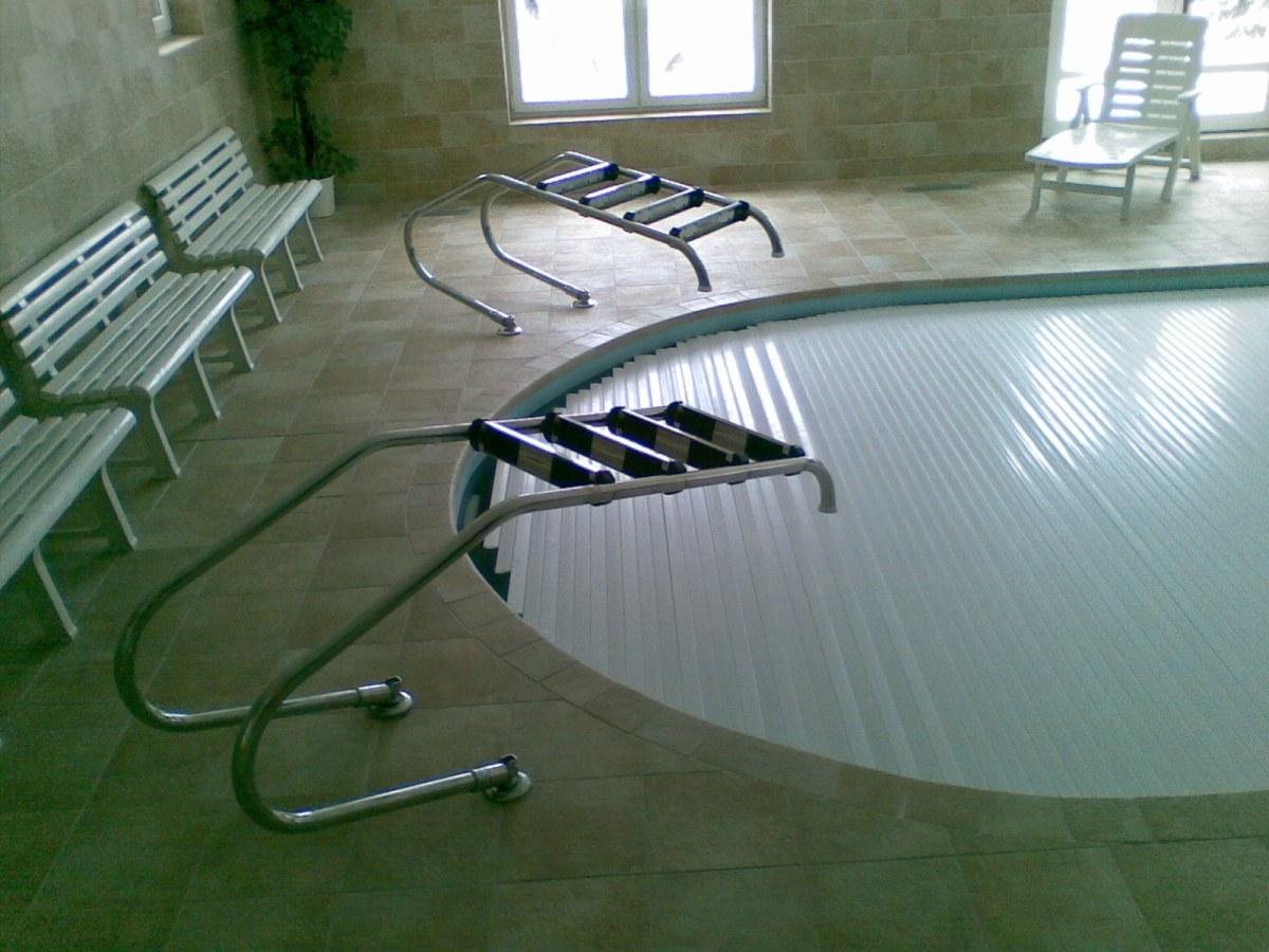 Čerpadla a bazénové filtry pro hotelový bazén Horského hotelu Babská ve Velkých Karlovicích