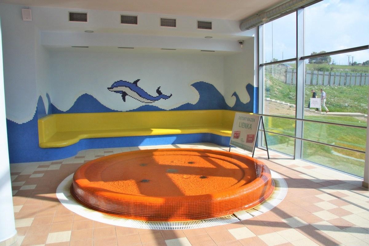 Nerezové bazény na termálném kúpalisku Vrbov