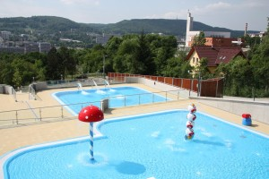 Projekt koupaliště Panorama ve Zlíně