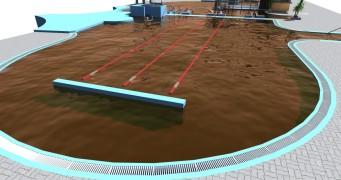 Projekt wellness a venkovního bazénu pro Gino Paradise Bešeňová