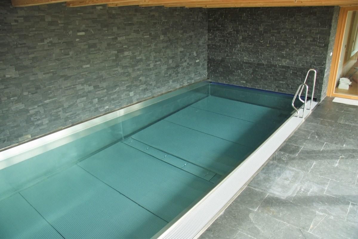 Privátní nerezový bazén v Severomoravském kraji