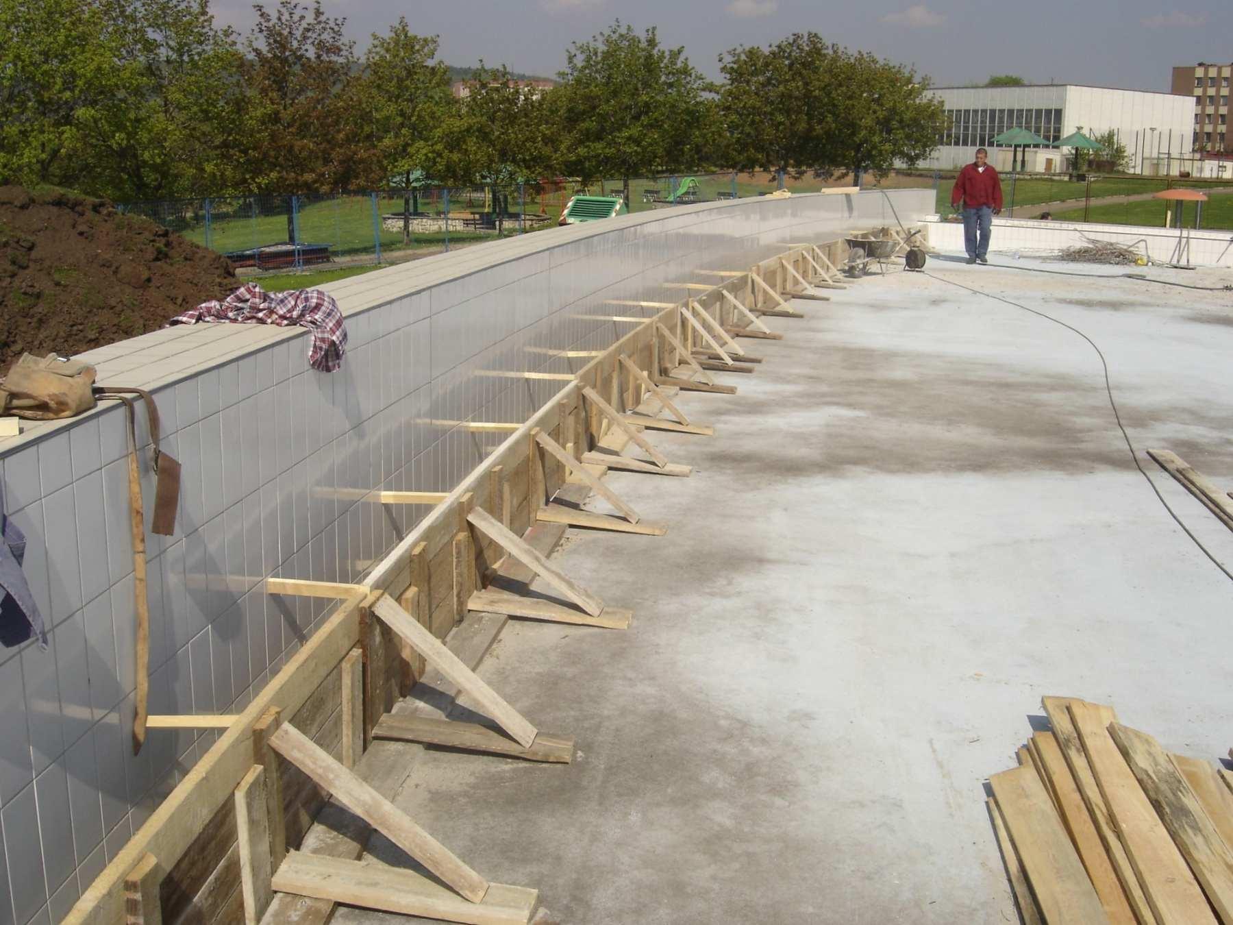 Rekonstrukce koupaliště a bazénových technologií venkovního areálu v Mostech u Jablunkova