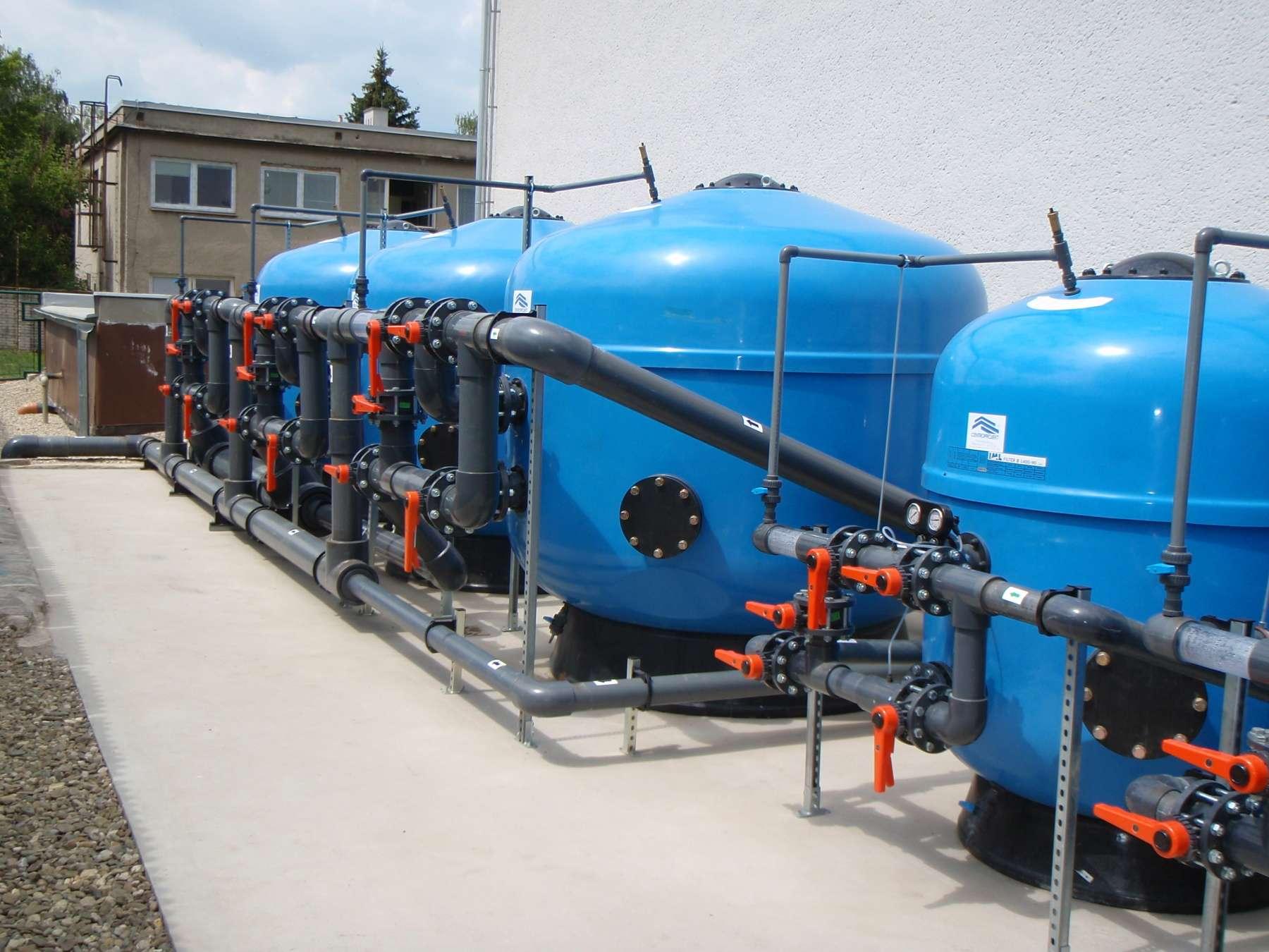 Modernizace koupaliště v Chropyni včetně nových bazénových technologií