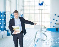 Petr Ševela, ředitele divize Aquaparky, bazény a bazénové technologie