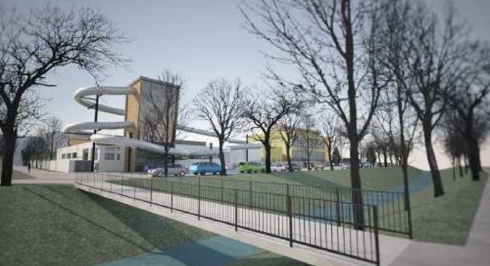 Rekonstrukce městského plaveckého bazénu Rakovník